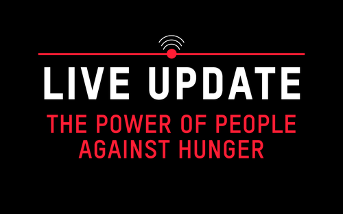 The power of people against hunger