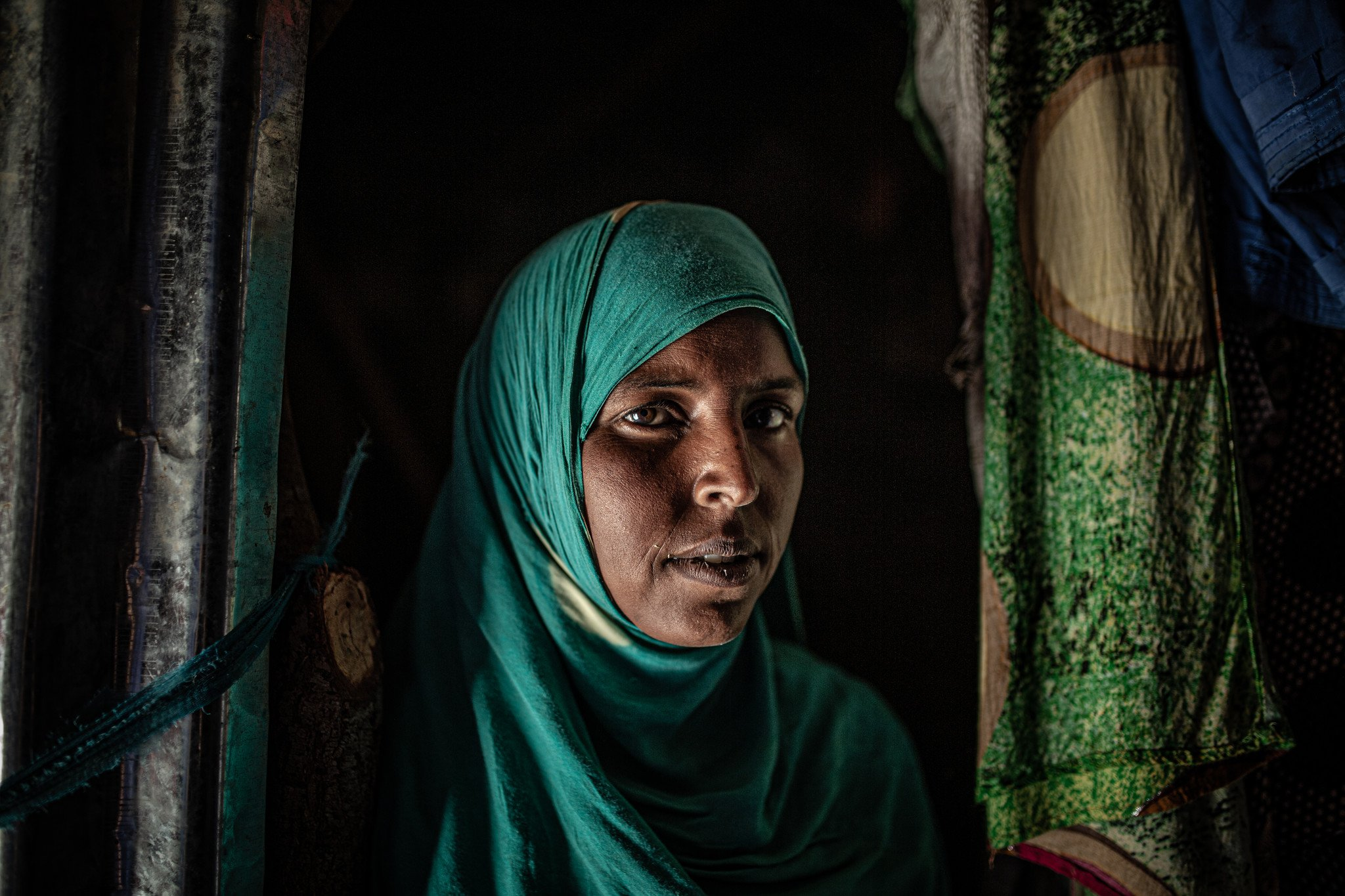"Kawsar Omer Abdi: ""Our income is down because we have no livestock to sell … we have no income now."""