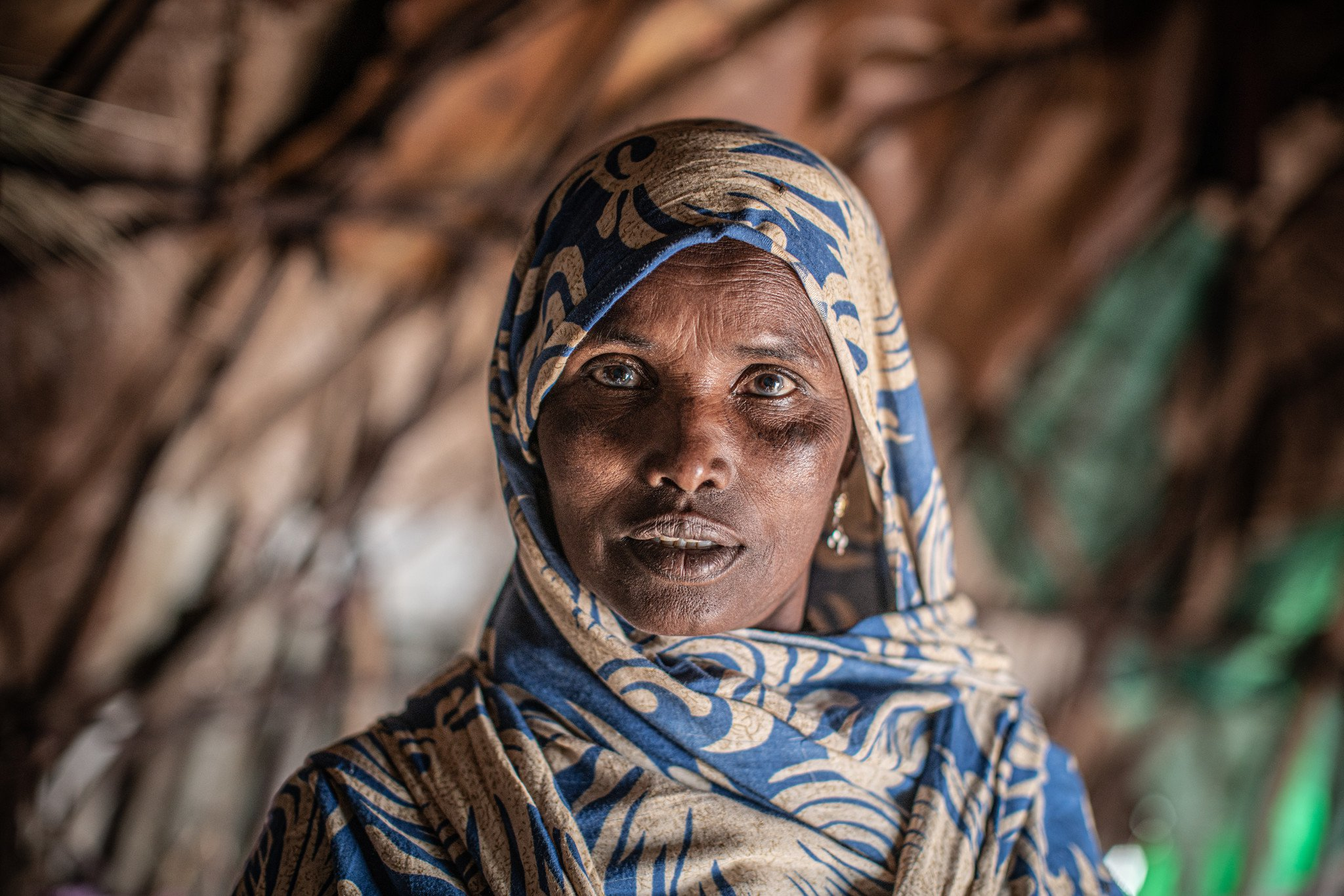 """Shamis Alel: """"Lack of water and food, and problems with changing climate, make women the most vulnerable."""""""