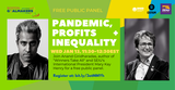 Virtual Event | Pandemic Profits Inequality