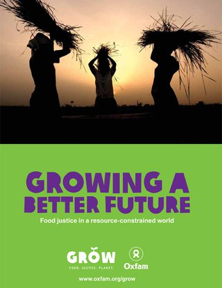 Growing a better future report cover image