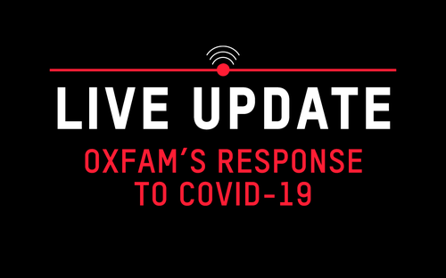 Oxfam's response to COVID-19