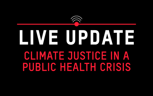 Climate Justice in a Public Health Crisis