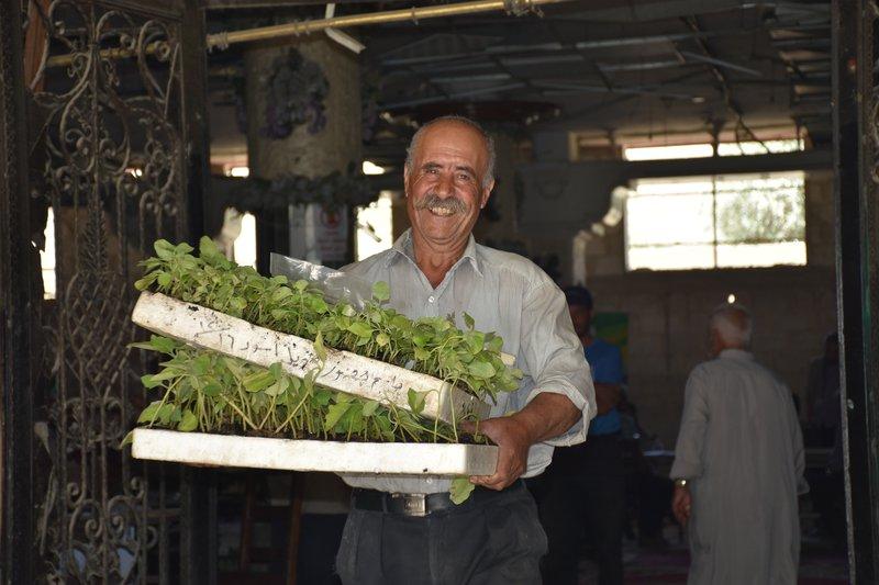 Marwan, a farmer in Syria