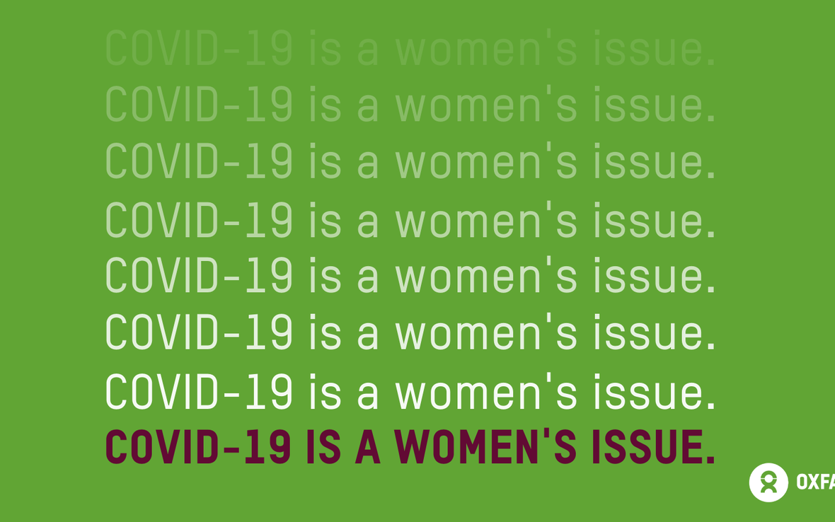 COVID-19 is a women's issue