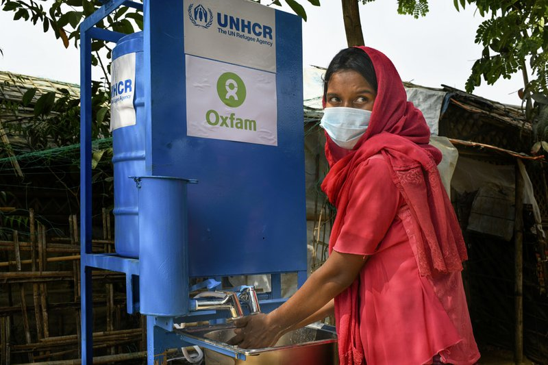 Contactless Handwashing Device in Cox's Bazar, Bangladesh