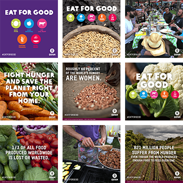 Eat for Good share graphics