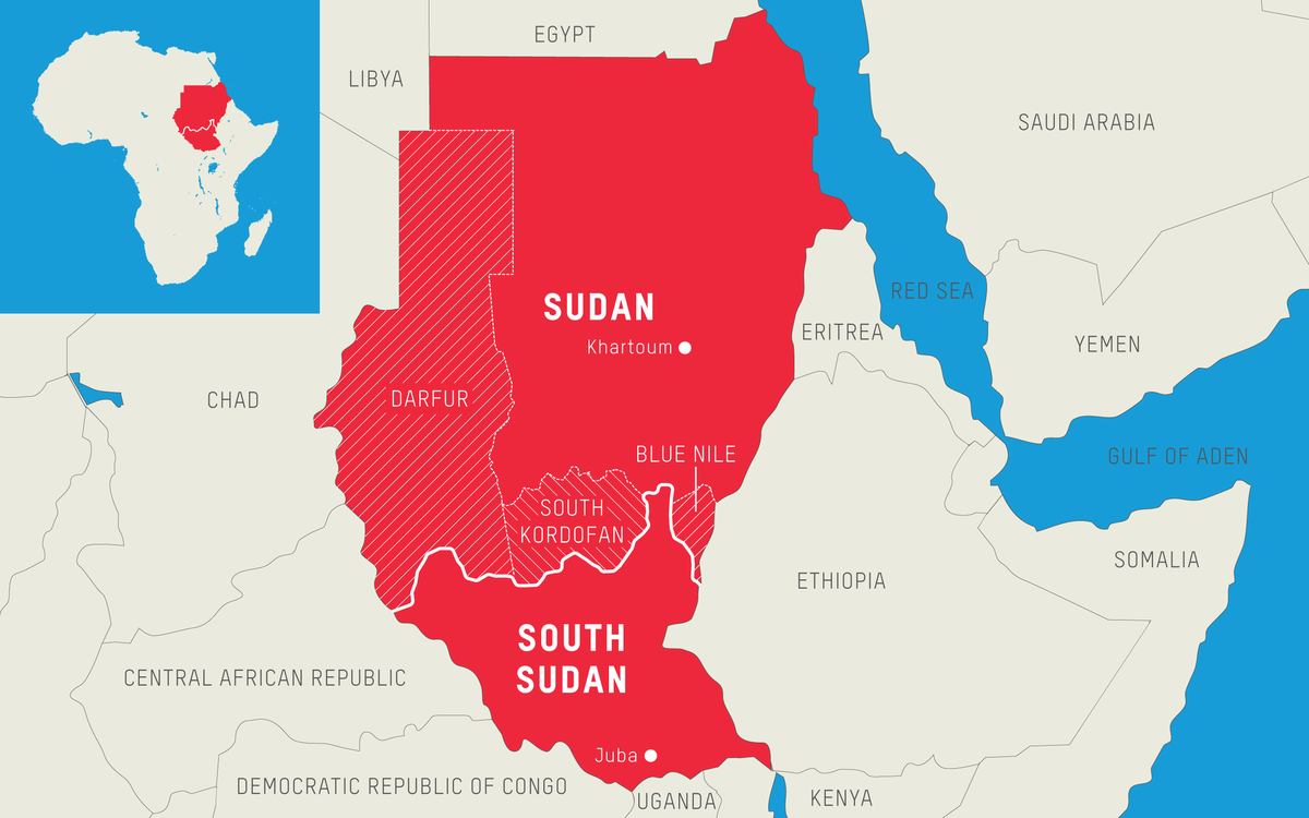 south sudan africa map What S The Difference Between Sudan And South Sudan Oxfam