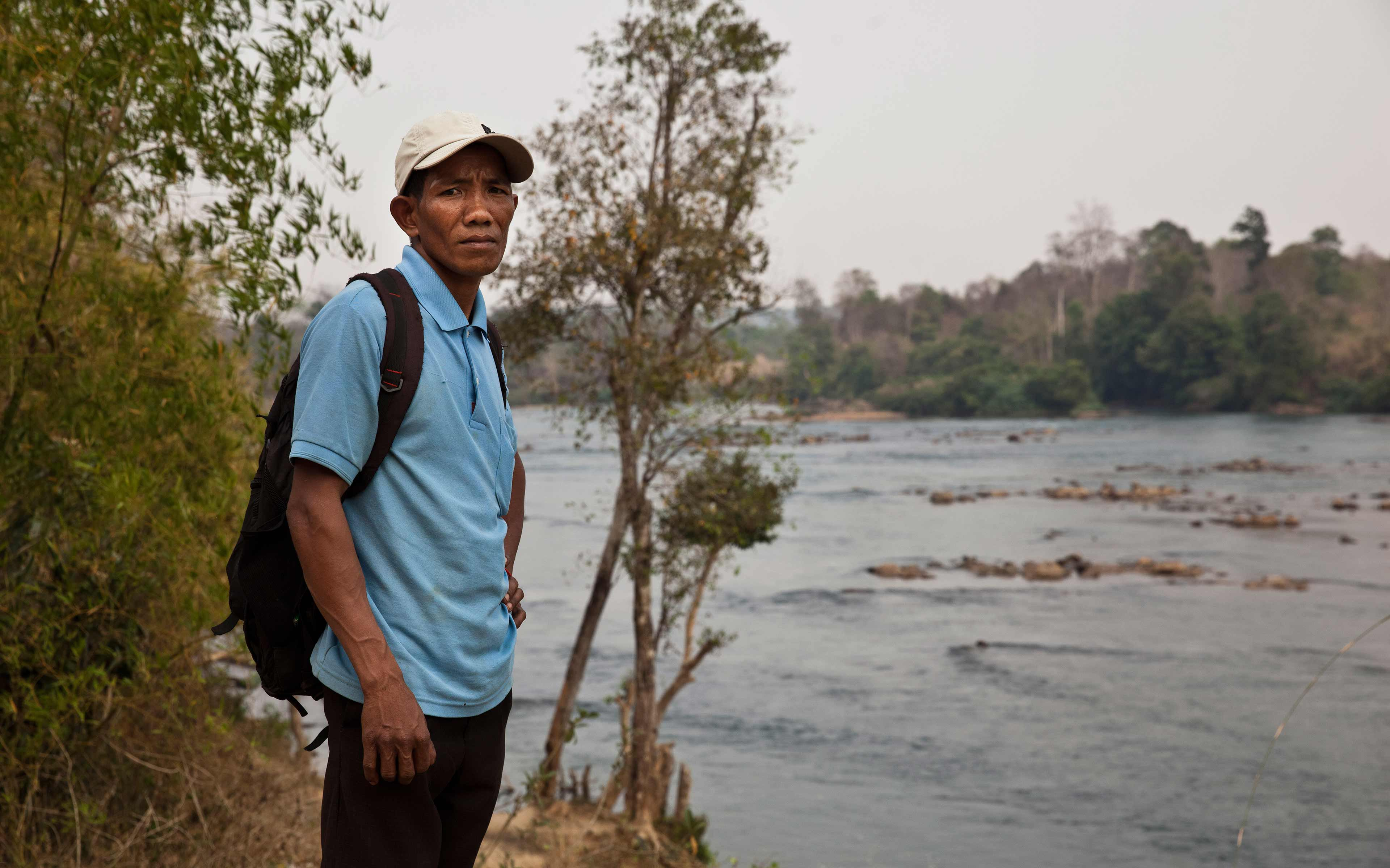 Sev Leam is the deputy chief of Phi village in Cambodia's northern Ratanakiri province. He says his ethnic Jarai community filed to get a communal land title in 2011, and is still waiting for the government to survey Phi's lands and issue their title.