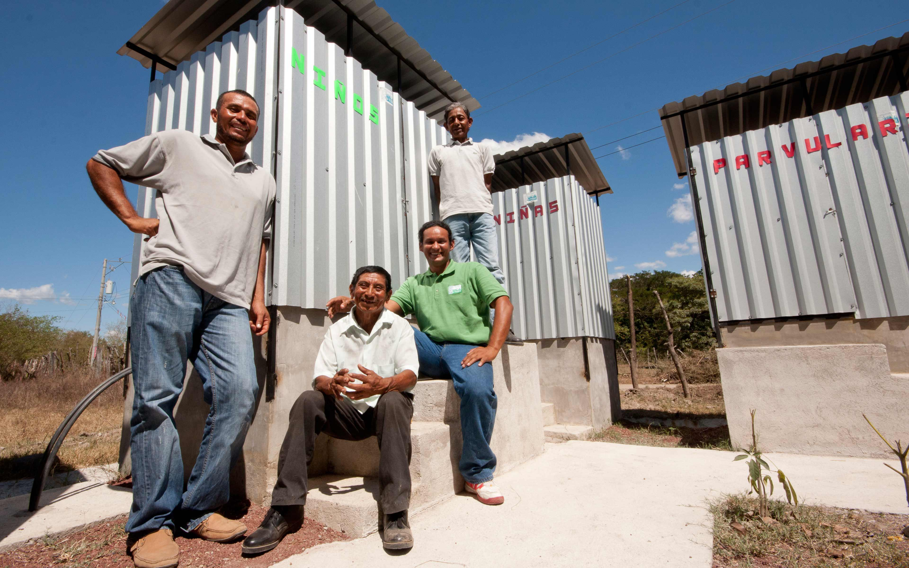Local humanitarian actors like PRO-VIDA are motivated to create long-term solutions for the communities where they work—like these flood-resistant composting latrines installed by PRO-VIDA in Zacatecoluca, El Salvador.