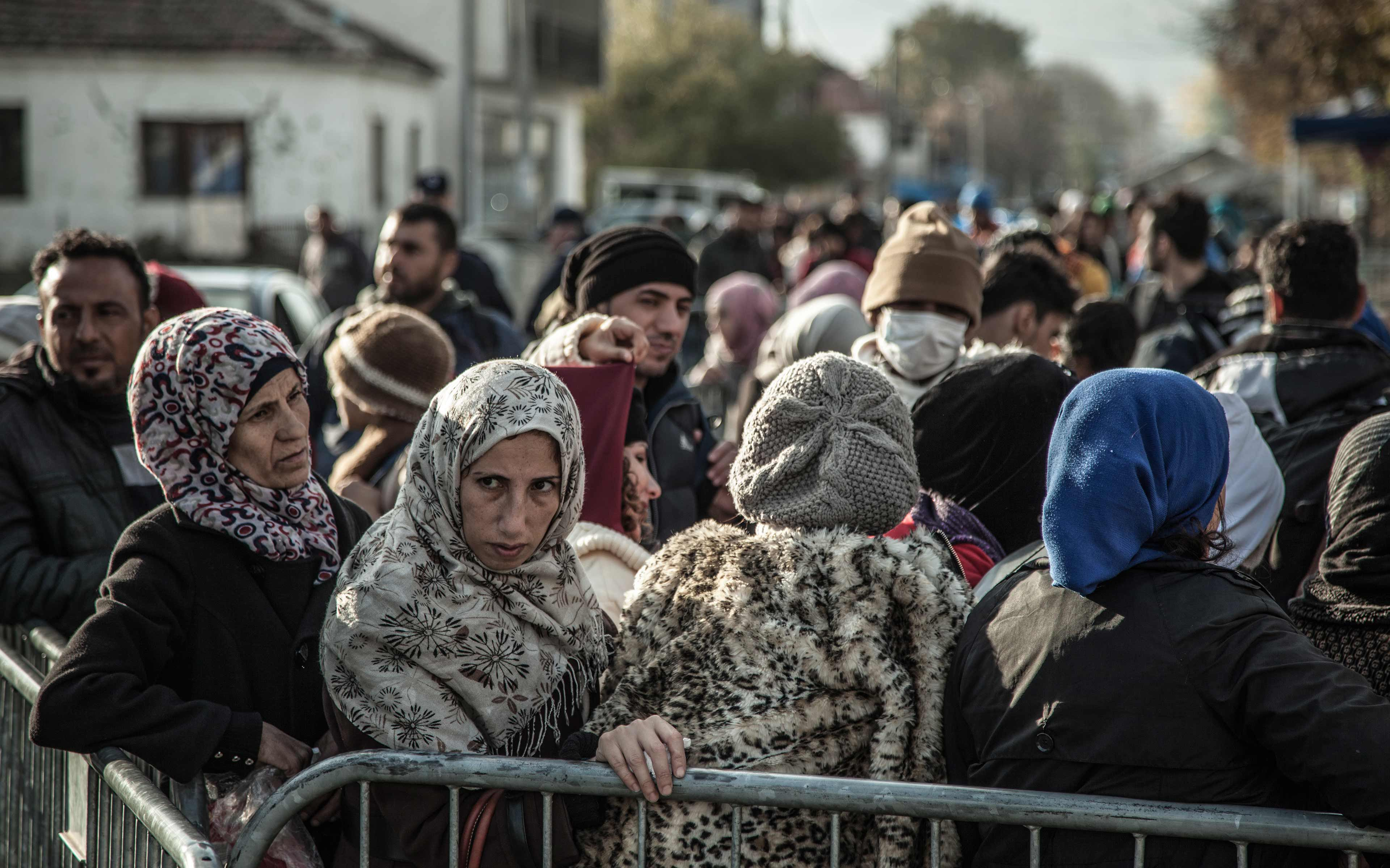 In November, 2015, many refugees were passing through Presevo in southern Serbia and then heading northwest toward Sid, often on buses or trains, before crossing the border into Croatia.