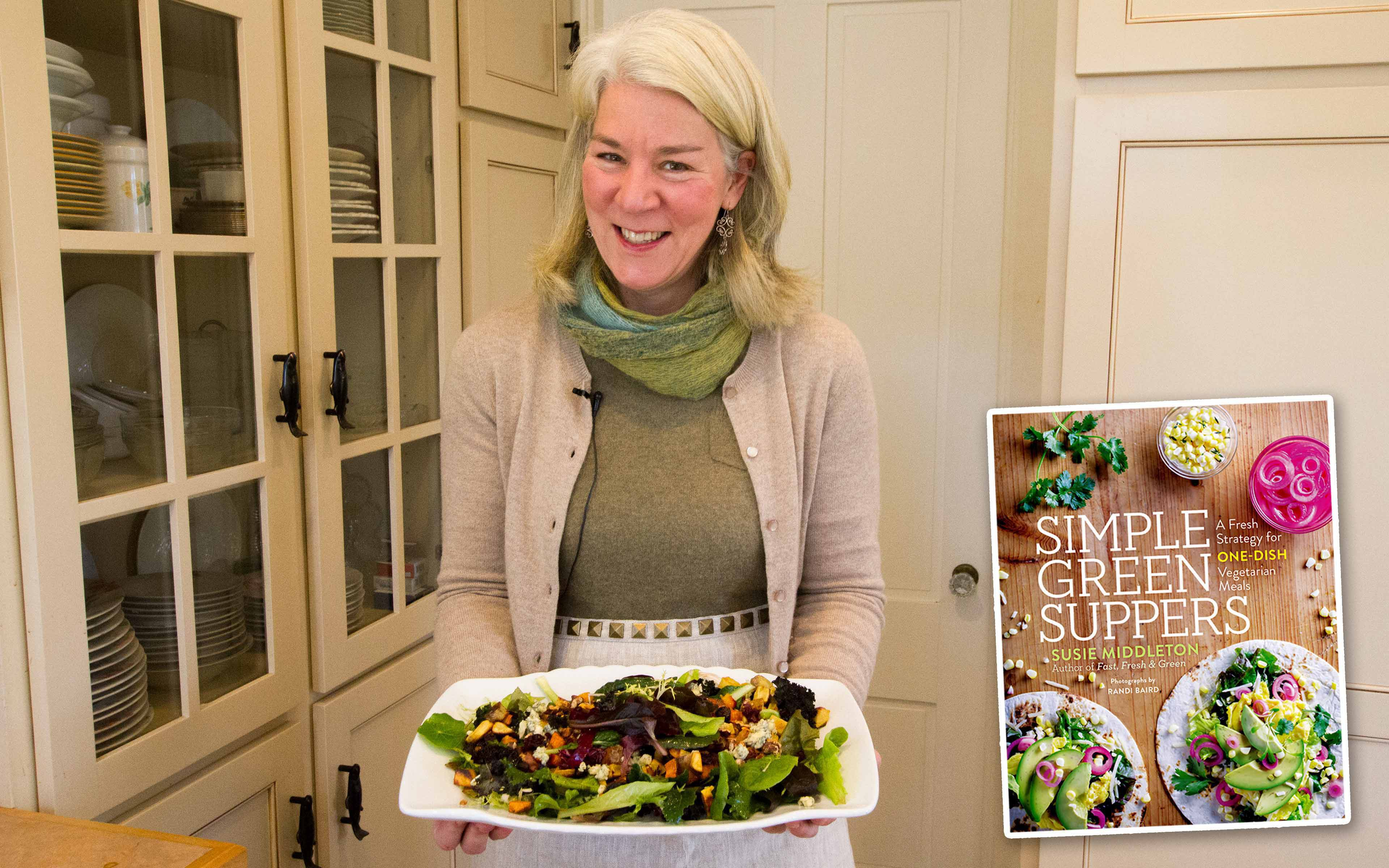 Using some of the root vegetables and other goodies you might have on hand—nuts? cheese?—it's not too hard to whip up a warm winter salad like the one cookbook author and small farmer Susie Middleton shows off here.